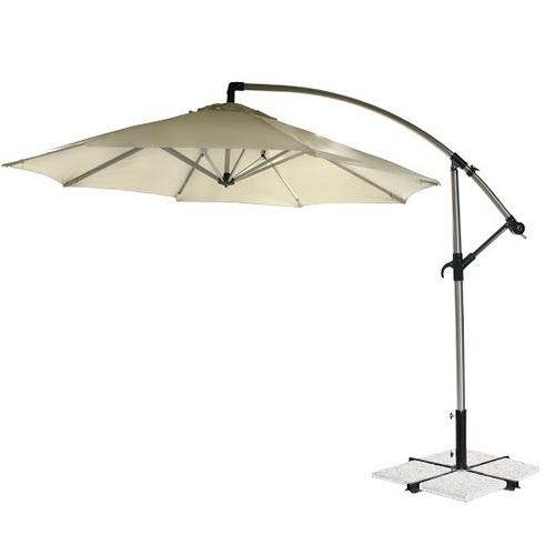Зонт консольный Capri круглый 11824 бежевый Garden4You