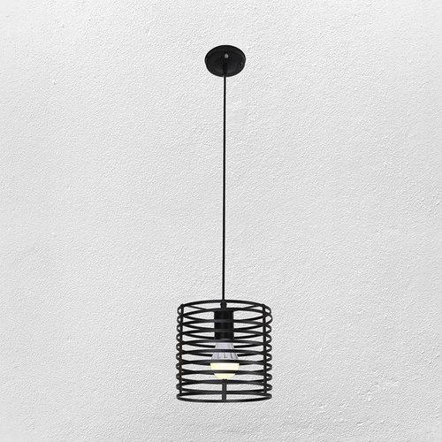 Лампа подвесная 7079150-1 BK черная Thexata