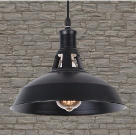 Лампа подвесная 7079183-1 BK (260) черная Thexata