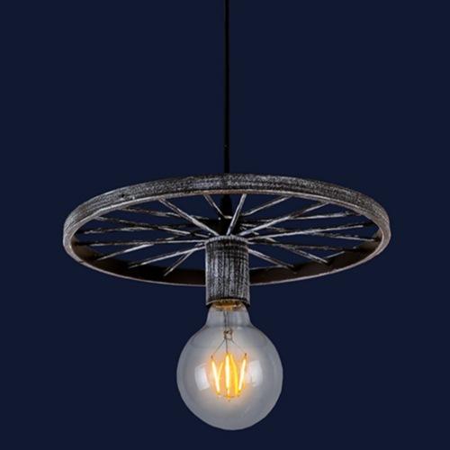 Лампа подвесная 746WXA012-1 OX серая Thexata