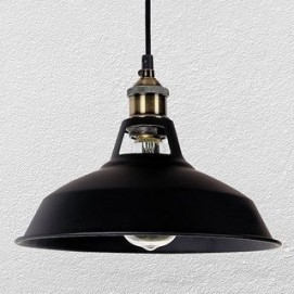 Лампа подвесная 7526857-1 BK черная Thexata