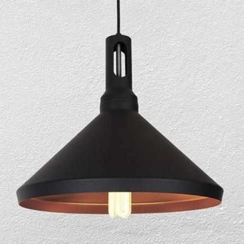 Лампа подвесная 7526831-1 BK черная Thexata