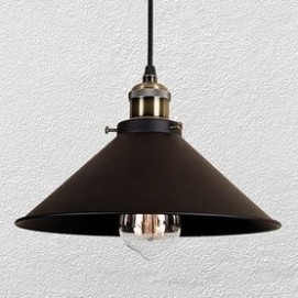 Лампа подвесная 7526855-1 BK (300) черная Thexata