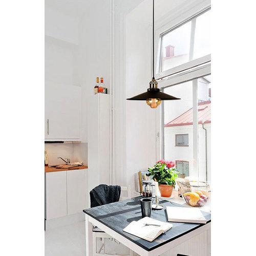Лампа подвесная 7526856-1 BK (360) черная Thexata