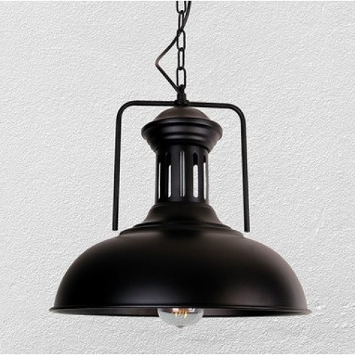 Лампа подвесная 7528880-1 BK черная Thexata