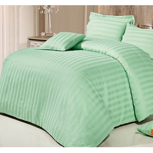 Постельное белье зеленый полуторный Love You