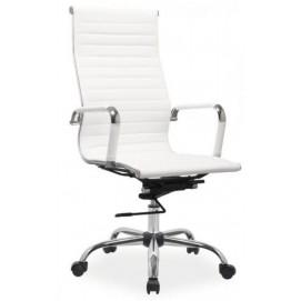 Кресло офисное Q-04МBT Primel белое с браком!!!
