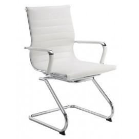Кресло офисное Q-04CF Primel белое