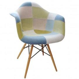 Кресло Paris fabric DCV1-РК3 ноги дерево Primel цветная ткань