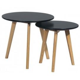 Набор столиков 2 шт MEET S3 Kordo черный