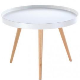 Стол кофейный Tray T3 белый средний Kordo