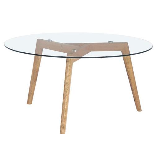 Стол кофейный Glass G6 стекло Kordo прозрачный