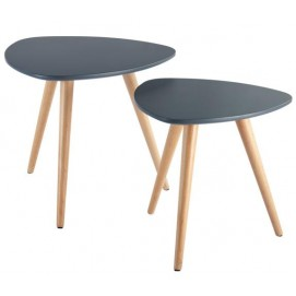 Набор из столиков 2 шт Marie M5 Kordo черный