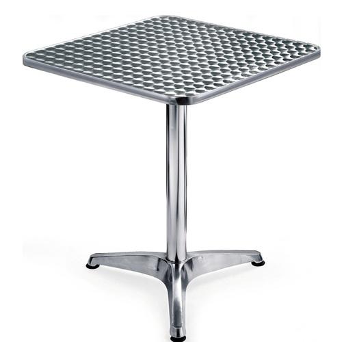 Стол обеденный ALT-6010 Onder 600*600 мм Alumium есть 1шт