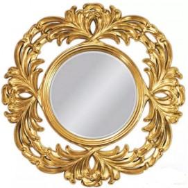 Зеркало 100*100 см VER-PU-1-201 золото Glamoorzee