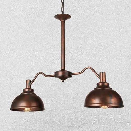 Люстра 720M23393-2 коричневая Thexata
