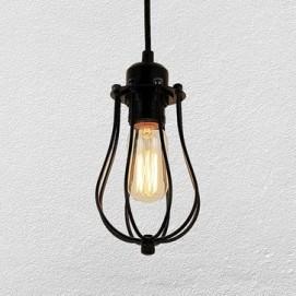 Лампа подвесная 720P4033-1 черная Thexata