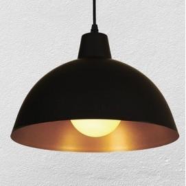 Лампа подвесная 7546493-1  черная+золото