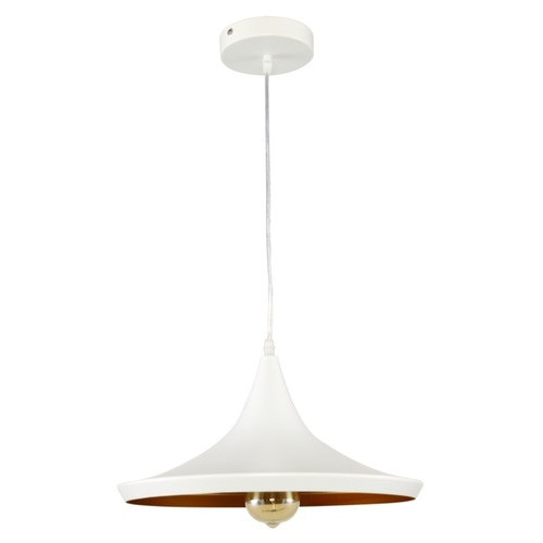 Лампа подвесная A2201-3 WH белая Carlo de Santi