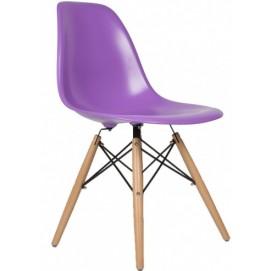 Стул Paris wood Primel фиолетовый ноги дерево