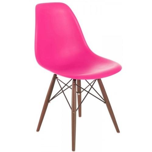 Стул Paris wood Primel темно-розовый ноги дерево