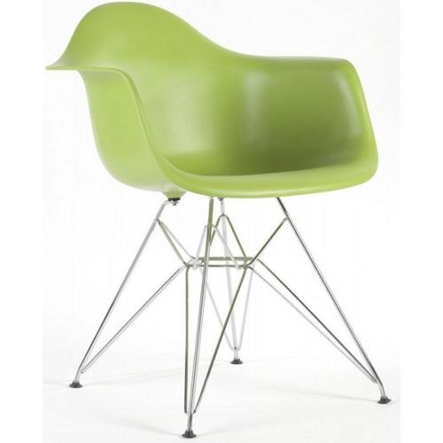 Кресло Paris светло-зеленый Primel ноги дерево