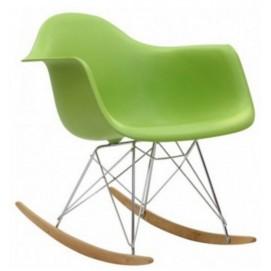 Кресло качалка Paris Primel зелёное
