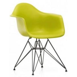 Кресло Paris оливковое Primel ноги металл