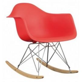 Кресло качалка Paris Primel красное