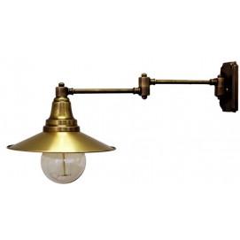 Светильник настенный 2097 латунь Pikart