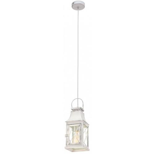 Лампа подвесная Eglo LISBURN 49222 белая