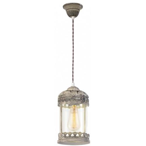 Лампа подвесная Eglo LANGHAM 49203 прозрачная