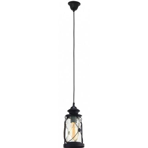 Лампа подвесная Eglo 49213 черная BRADFORD