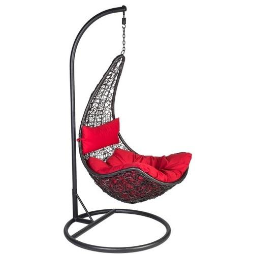 Кресло подвесное COCO 28017 черный Garden4You
