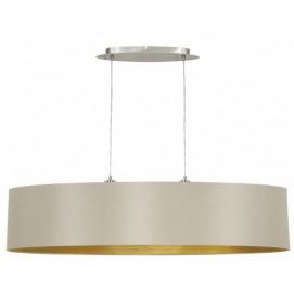 Лампа подвесная Eglo MASERLO 31618 бежевая