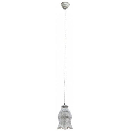 Лампа подвесная Eglo TALBOT 1 49207 серая