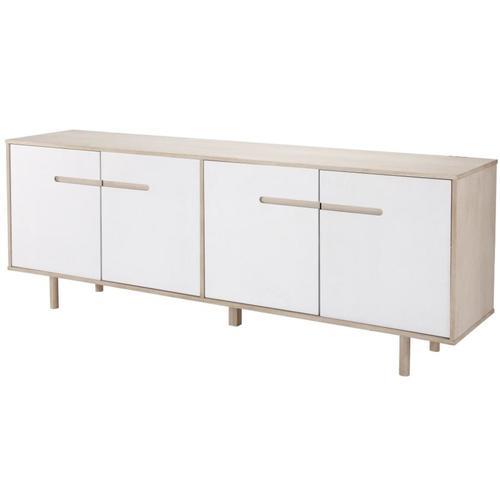 Буфет ROENNE 45x199 cm белый Home Design 6101