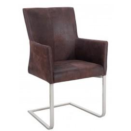Кресло Armando коричневое 95cm (Z35787) Invicta