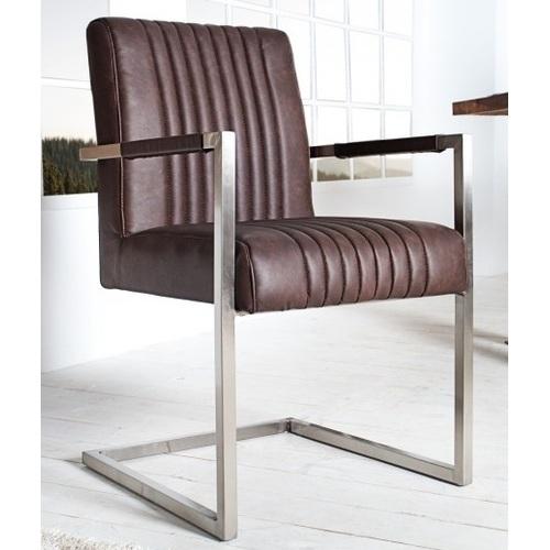 Кресло офисное Sir Alex II 90cm (Z35878) Invicta коричневое