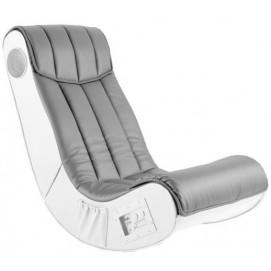 Кресло Soundz серое-белое Home Design 6497