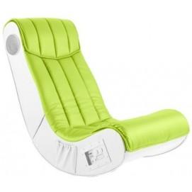 Кресло Soundz зеленое-белое Home Design 6496