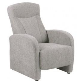 Кресло реклайнер Arendal светло-серый Home Design 6390