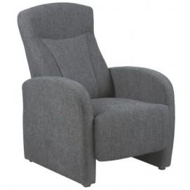 Кресло реклайнер Arendal темно-серый Home Design 6389