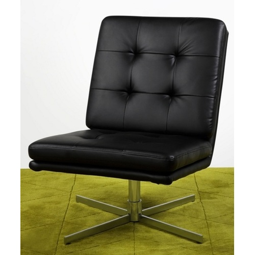 Кресло Rally New York черное Home Design 1576