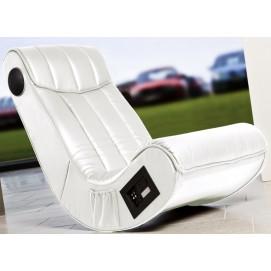 Кресло мягкое SOUND белое Home Design 1526