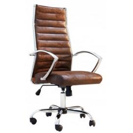 Кресло офисное Big Deal 55cm (Z36105) коричневое Invicta