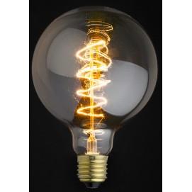 Лампа Эдисона G125 40W/60W Clear прозрачное стекло