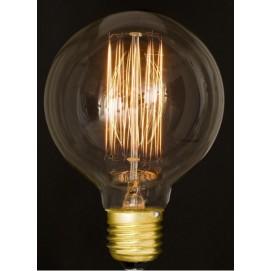 Лампа Эдисона G95 40W/60W Clear прозрачное стекло
