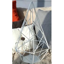 Абажур Металлический Acute Cage X-ed белый