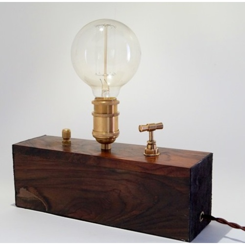 Настольная Лампа Из Дерева Retro Box X-ed